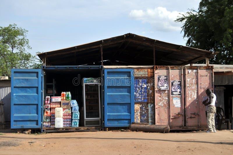 Магазин контейнера стоковое фото