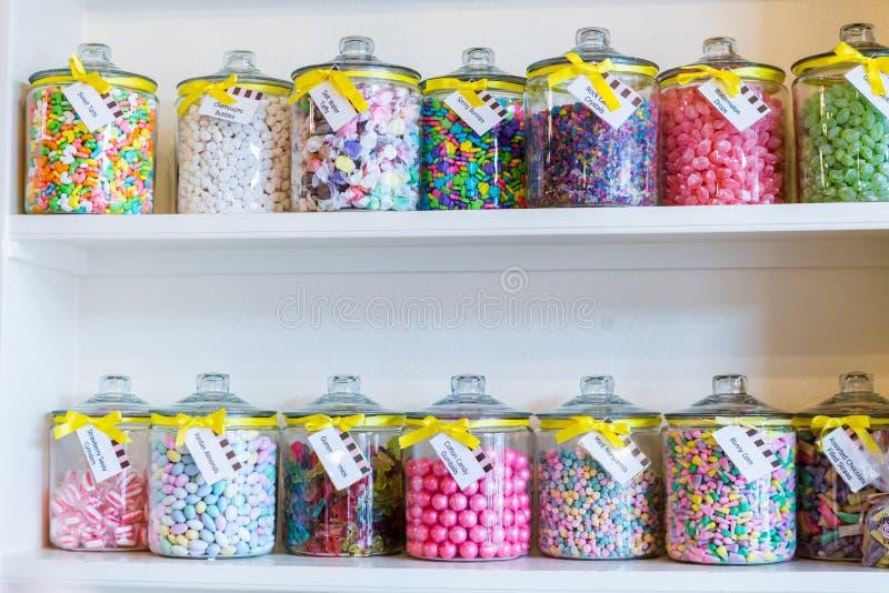 Магазин конфеты стоковая фотография rf
