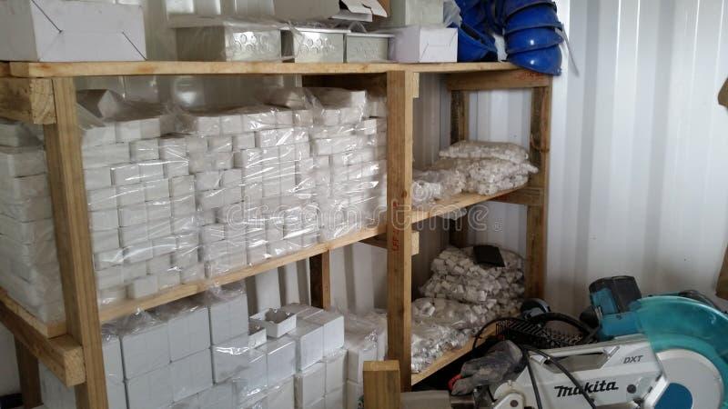 Магазин материалов стоковые фото