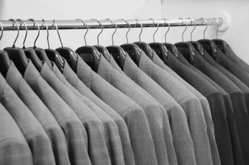 магазин одежды стоковые фото