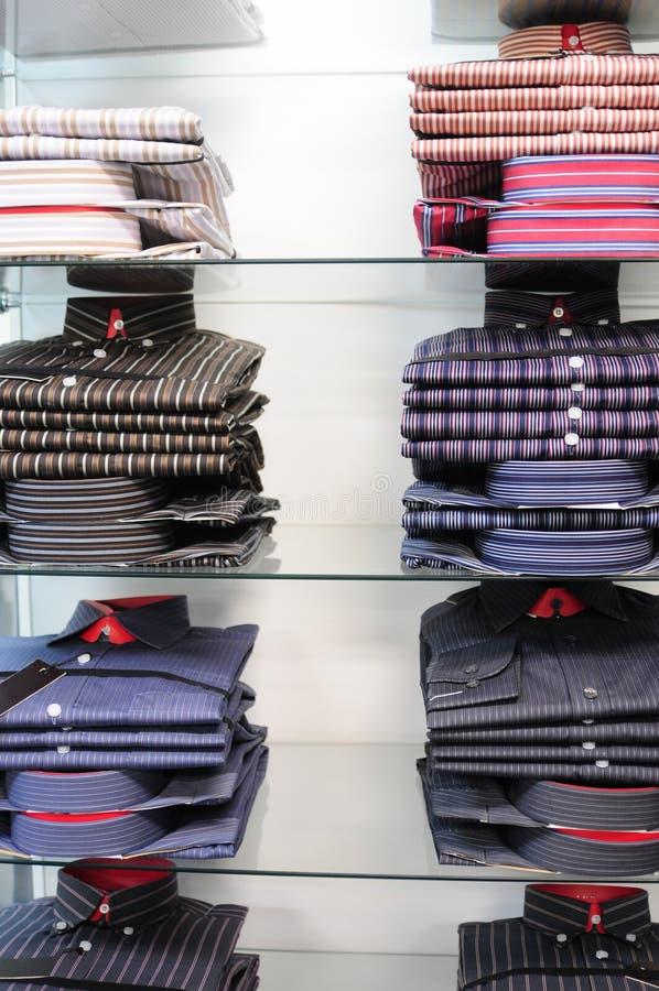 магазин одежды стоковое фото
