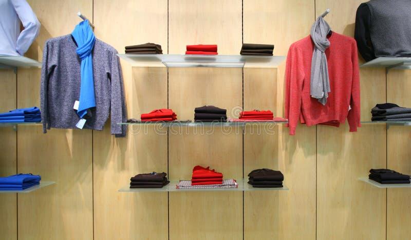 магазин одежд стоковые изображения
