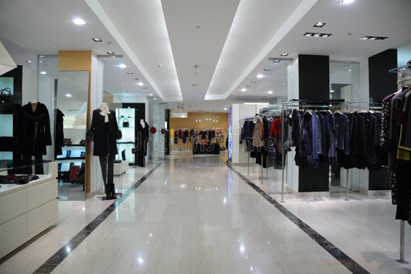 магазин одежд стоковые изображения rf