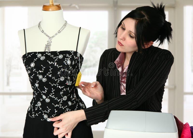 магазин платья стоковое изображение rf