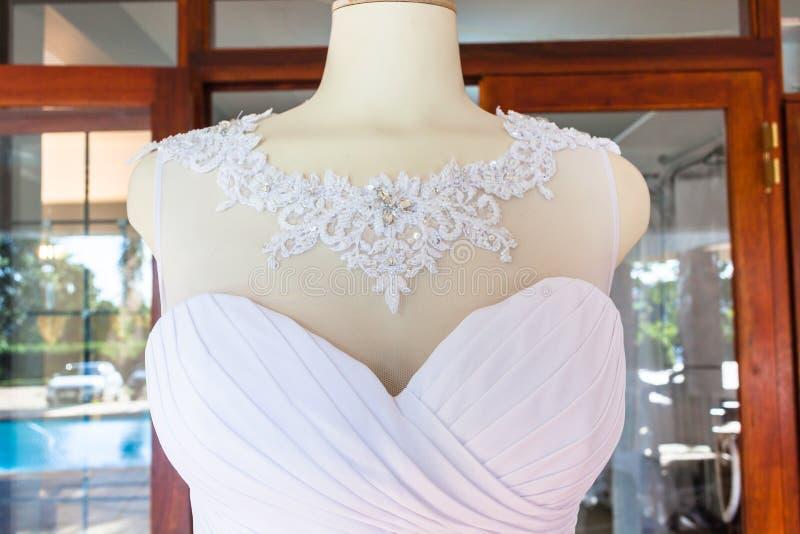 Магазин платья свадьбы стоковые фотографии rf
