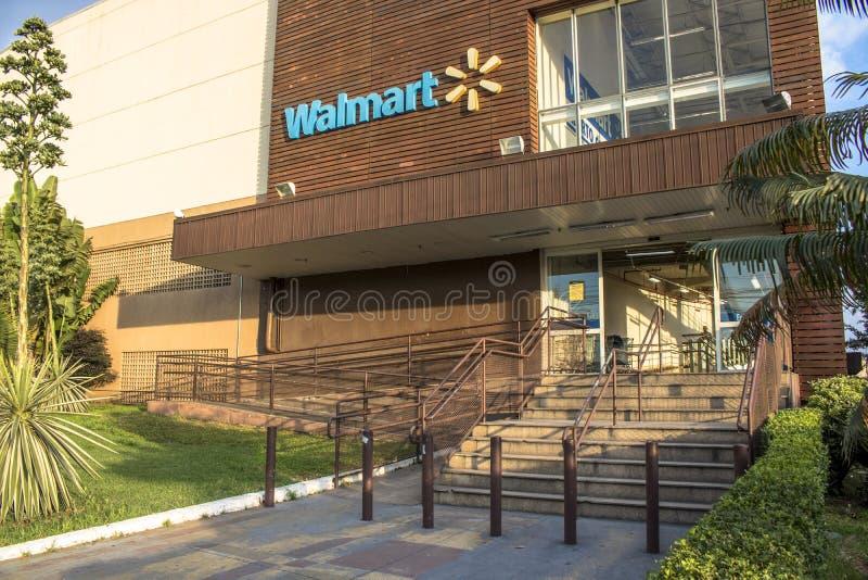Магазин рынока Wal стоковые изображения