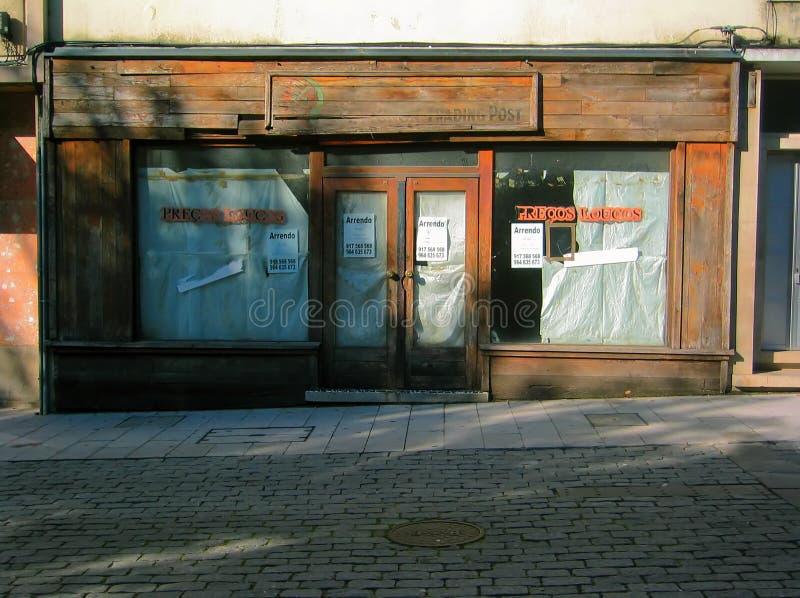 магазин сбываний отказа стоковые изображения rf