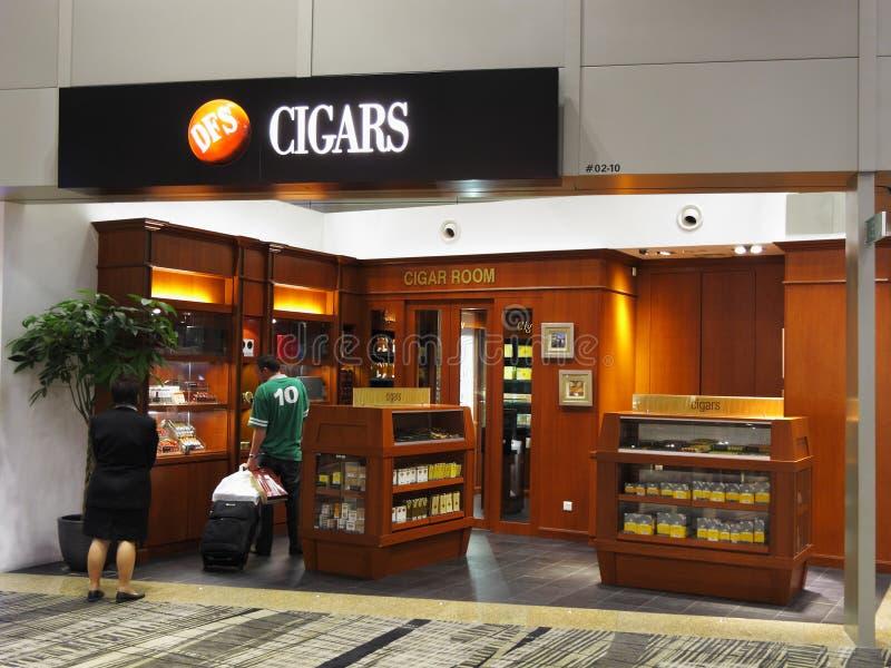 магазин сигары стоковое фото
