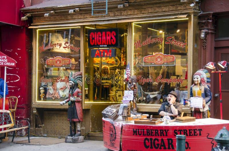 Магазин сигары стоковое фото rf