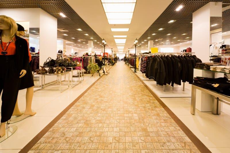 магазин собрания одежд мешка осени стоковая фотография rf