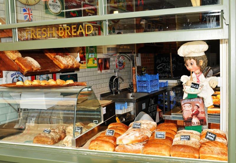 Магазин хлеба стоковые изображения