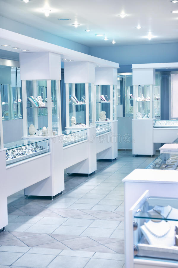 магазин ювелирных изделий стоковые изображения rf
