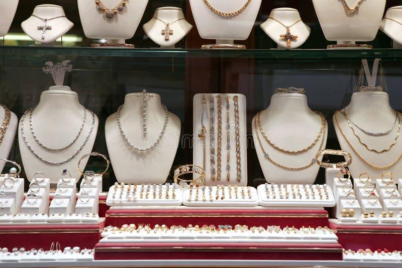 магазин ювелирных изделий стоковые фото