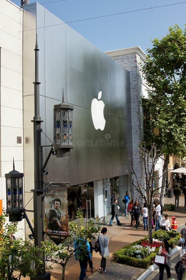 магазин яблока стоковое изображение rf