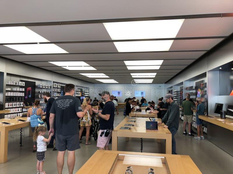 Магазин Apple стоковое изображение rf