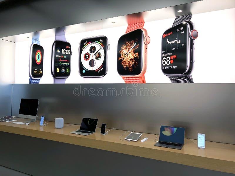 Магазин Apple стоковые фотографии rf