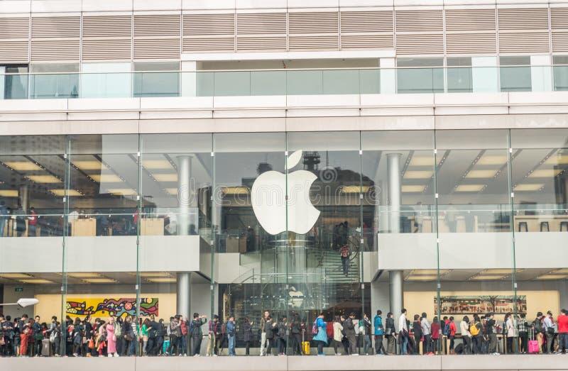 Магазин Apple стоковые изображения