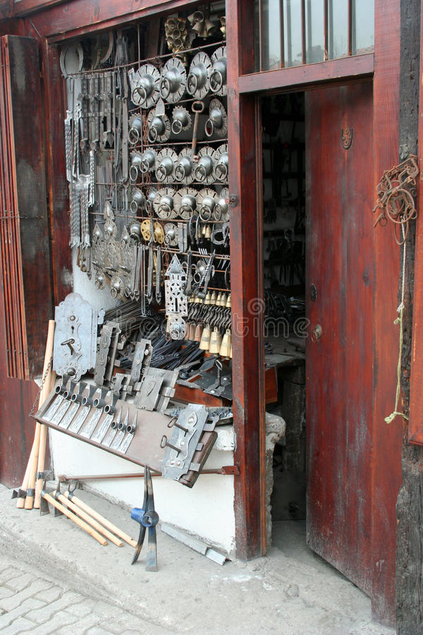 магазин blacksmith стоковая фотография