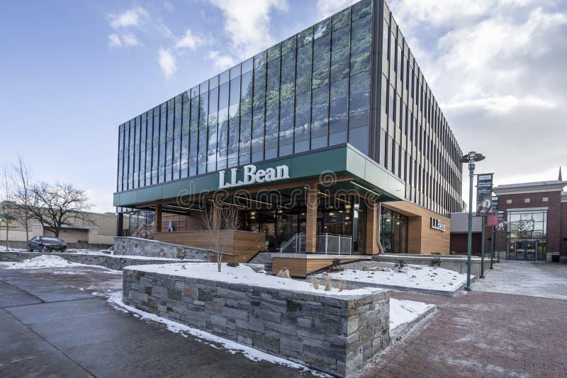 Магазин Burlington ФАСОЛИ LL, Вермонт стоковая фотография