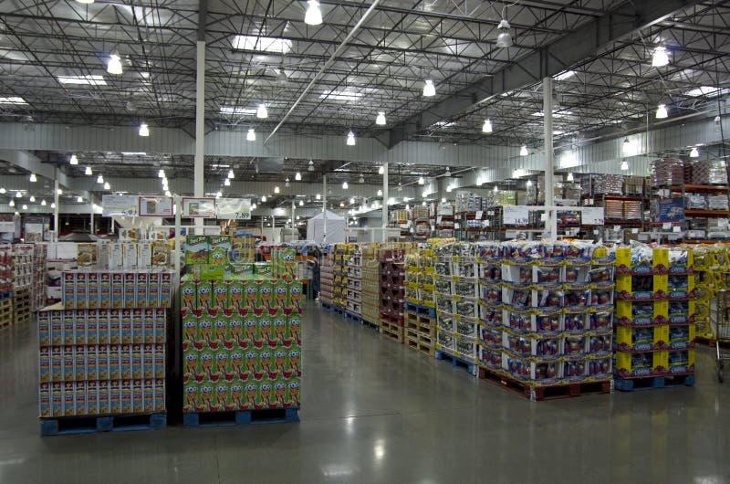 Магазин Costco стоковое фото rf