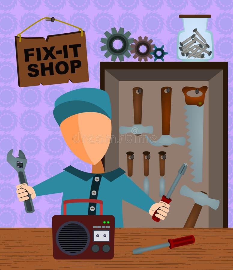 магазин fix бесплатная иллюстрация