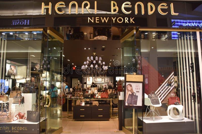 Магазин Henri Bendel на моле Америки в Bloomington, Минесоте стоковое изображение