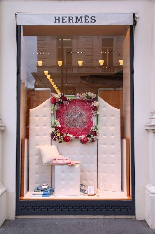 Магазин Hermes, вена стоковое изображение