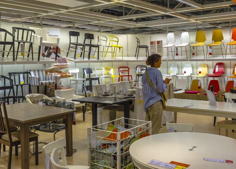 Магазин Ikea стоковое изображение