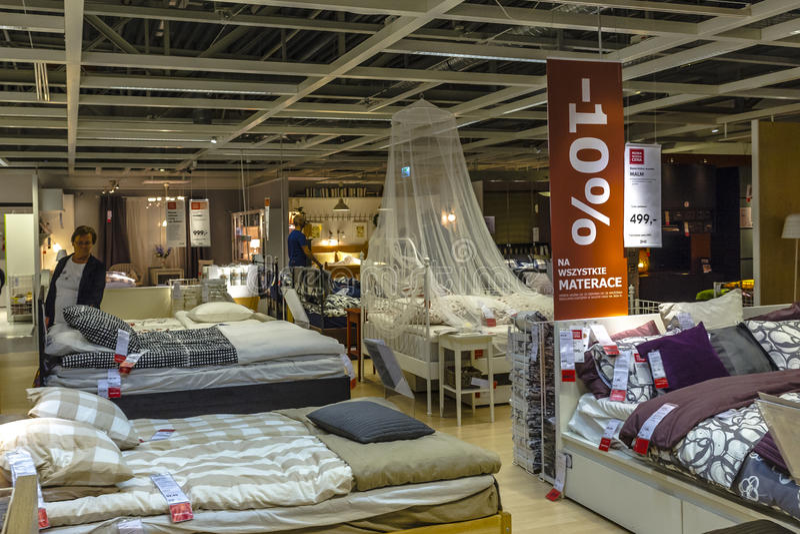 Магазин Ikea стоковое фото rf