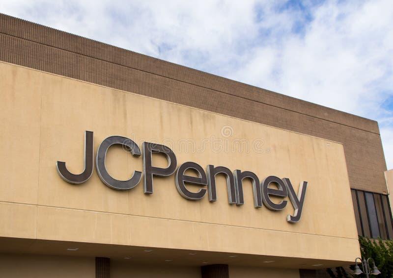 Магазин JC Penney стоковые фотографии rf
