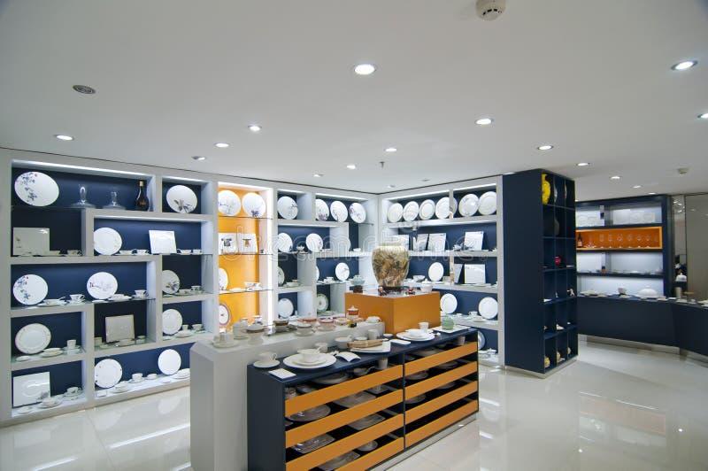 Магазин Tableware стоковые фото