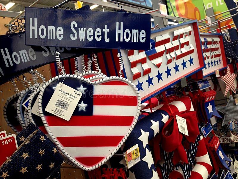 Магазин Walmart стоковые изображения