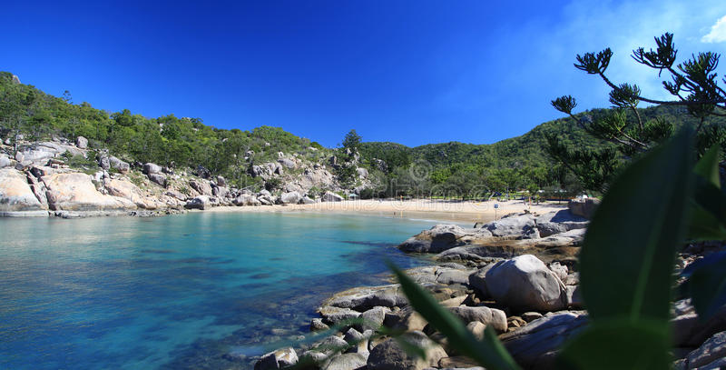Магнитный остров, Австралия стоковые изображения rf
