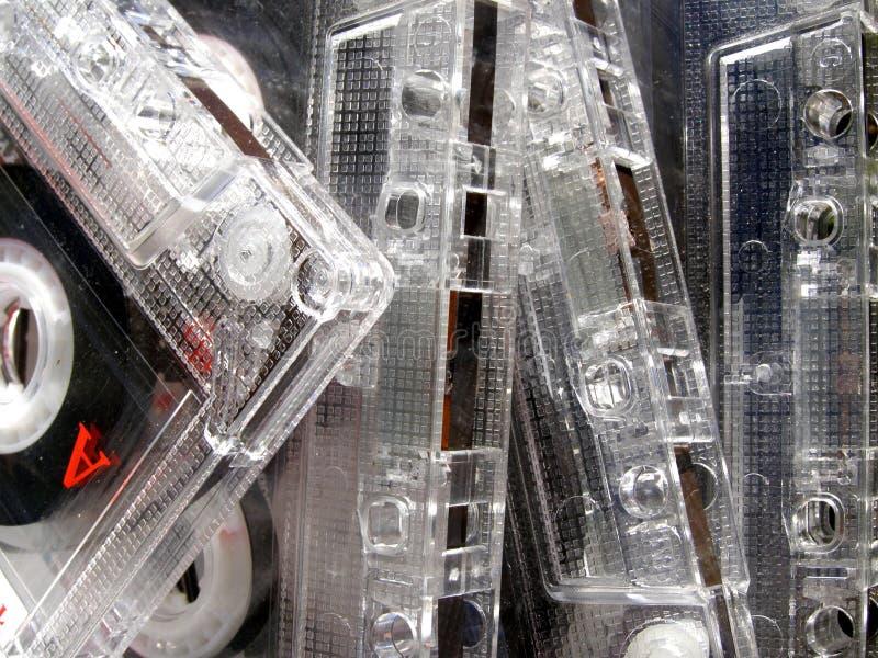 магнитофонные кассеты стоковые изображения