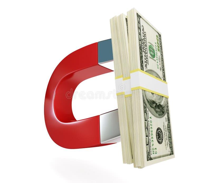 магнит доллара бесплатная иллюстрация