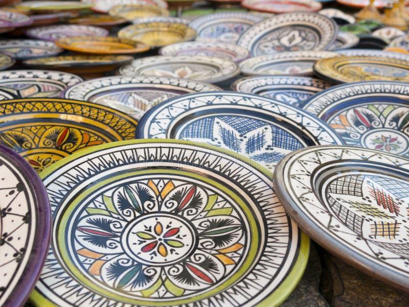 Магриб керамический стоковые фото