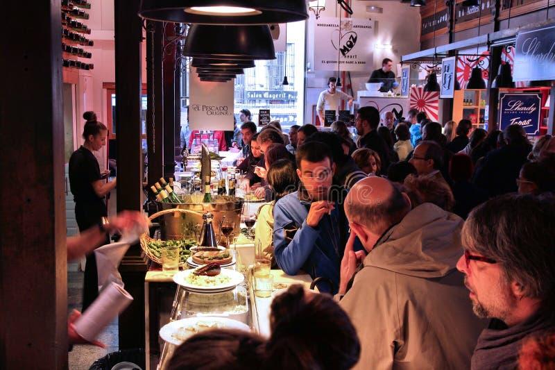 Мадрид - Mercado San Miguel стоковая фотография