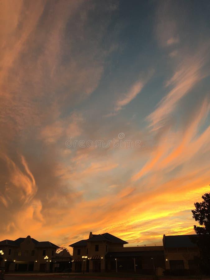 Мазок неба стоковые фотографии rf