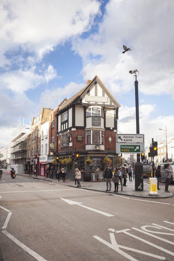 Майна кирпича, улица в Лондоне 2017 стоковое фото rf