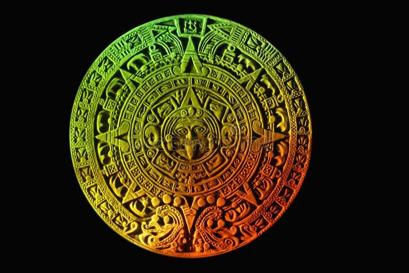Майяский календар. стоковые фото