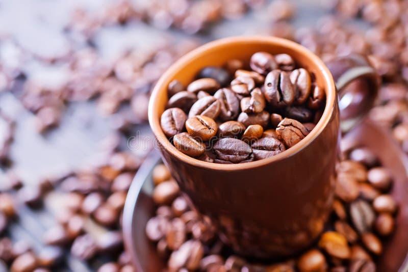 Download макрос кофе завтрака фасолей идеально изолированный над белизной Стоковое Фото - изображение насчитывающей вполне, черный: 40592148