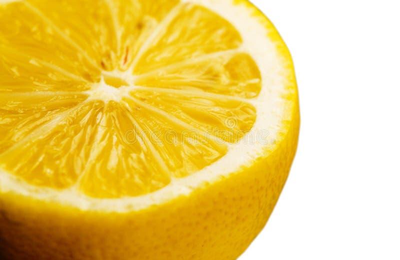 Макрос лимона стоковые фотографии rf