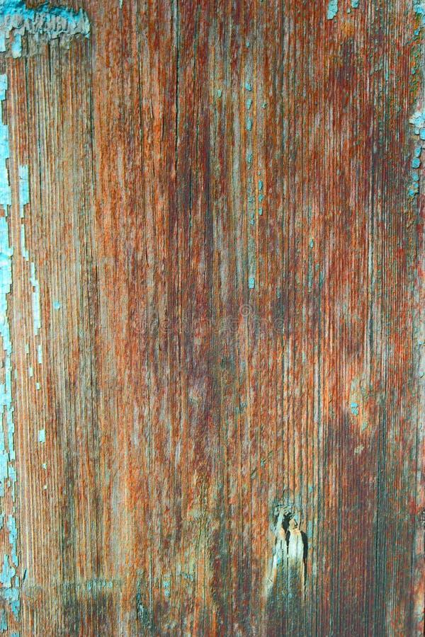 Макрос предпосылки старой планки деревянной с деревянной текстурой коричневого цвета зерна стоковое фото rf