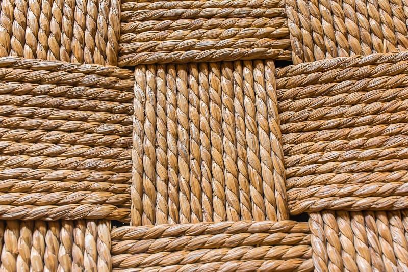 Макрос weave стула стоковые изображения rf