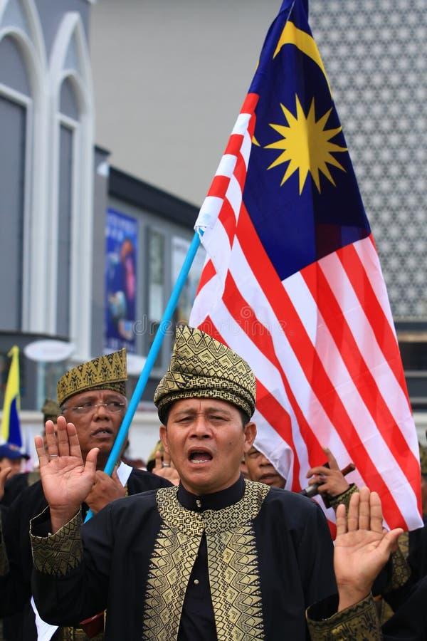 малайзийские ветераны pledge стоковое фото rf
