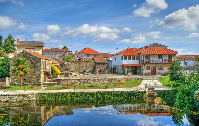 Малая деревня Boticas стоковая фотография