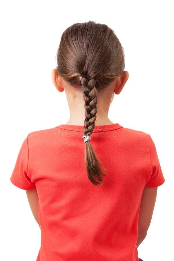 Маленькая девочка с отрезками провода стоковые фотографии rf