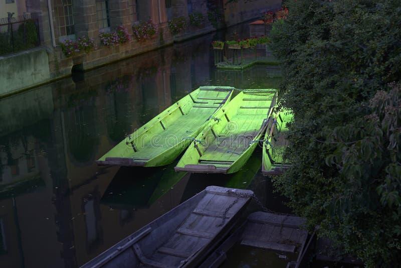 Маленькая Venise в Colm стоковые фотографии rf