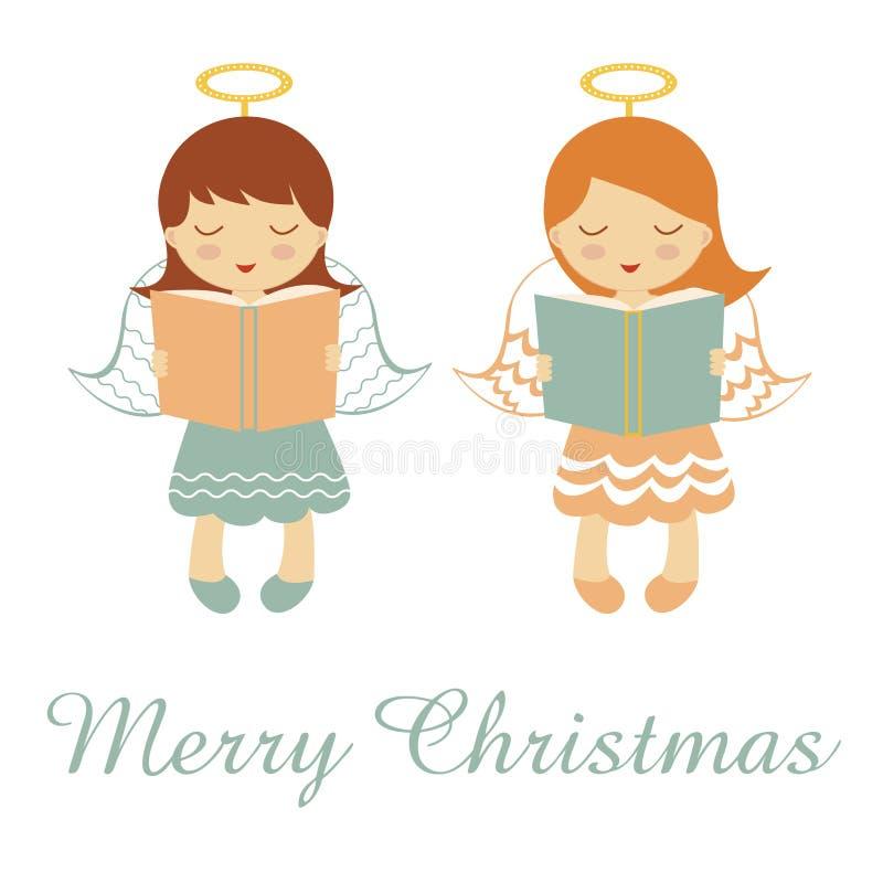 Маленькие ангелы моля бесплатная иллюстрация