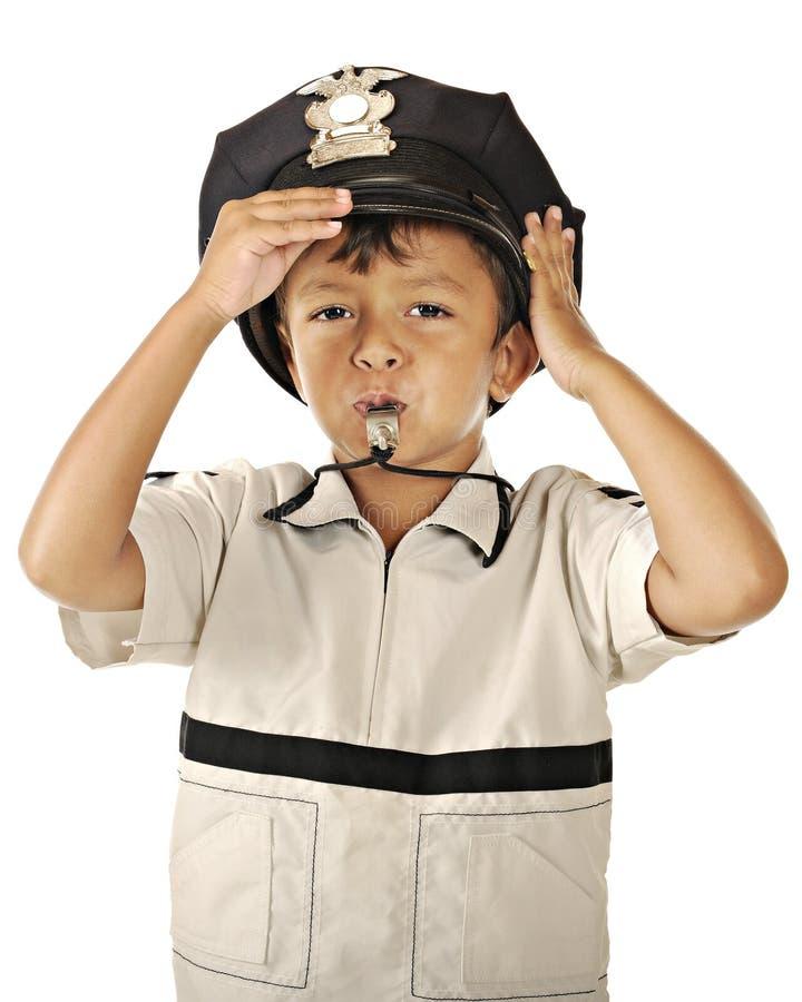 маленькие полиции свистят стоковые изображения rf